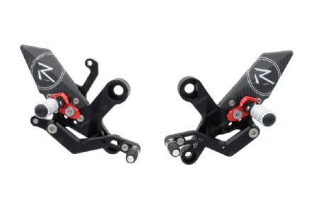 LighTech Yamaha YZF R1 2009-2014 'R' Version Adjustable Rearsets